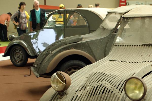 Drei von bislang fünf bekannten TPV-Protoypen aus 1939 - garage2cv.de