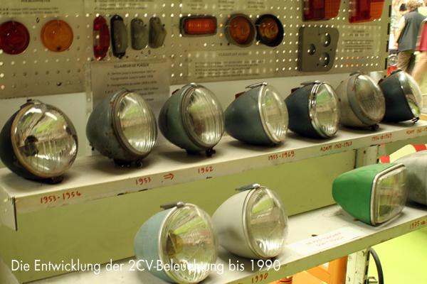 Die Entwicklung der französischen 2CV-Beleuchtung bis 1990 - garage2cv.de