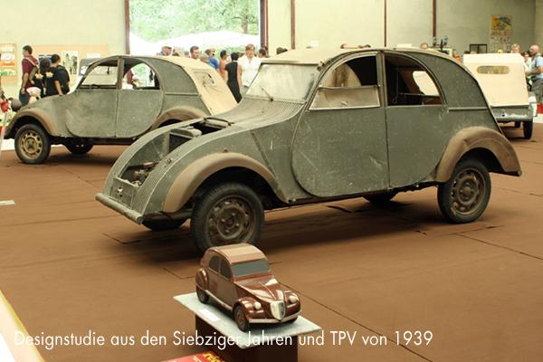 TPV und 2CV-Designstudie aus den Siebziger Jahren - garage2cv.de
