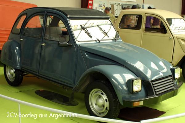Argentinischer 2CV Bootleg IES America - garage2cv.de