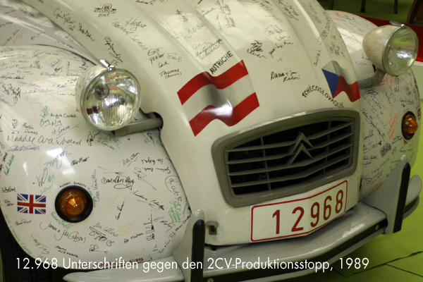 12.968 Unterschriften gegen den 2CV-Produktionsstopp - garage2cv.de