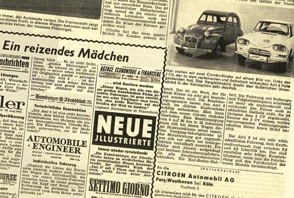 Citroën Ami 6: 1961 ein reizendes Mädchen - garage2cv.de