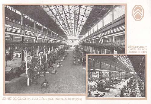 Zeitreise les usines citro n im jahre 1927 oldtimer for Garage auto clichy