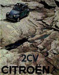 """Citroen Prospekt - Aus """"Voilà Monpti - Citroën 2CV Werbung in Deutschland"""""""