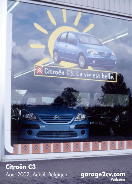"""Auf den französischsprachigen Märkten heißt es zur Einführung des Citroën C3: """"La vie est belle."""""""