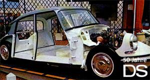 Konventioneller Automobilbau der fünfziger Jahren, gepaart mit innovativen Lösungen: So lässt sich die DS-Technik wohl am besten charakterisieren.