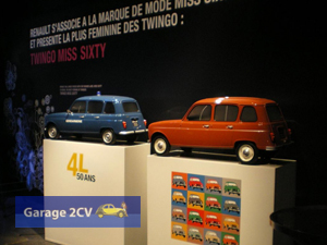 ... und auch Hersteller Renault läßt etliche 4L fertigen. (Foto: Christophe Goujon/garage2cv.de)