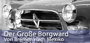 banner der grosse borgward p100 230 GL