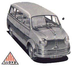 Lloyd LT 500 - Der erste Großraum-PKW
