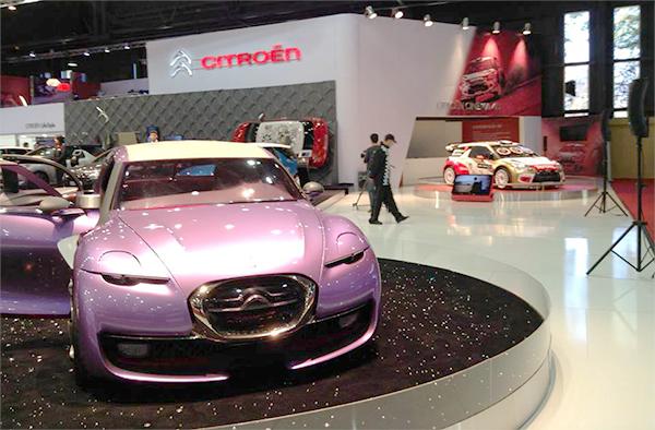 Buenos Aires: Studie Revolte auf dem aktuellen Citroën-Stand, im nächsten Jahr soll die Serienversion präsentiert werden, Verkaufsstart in 2015. Bild: Citroën Argentina