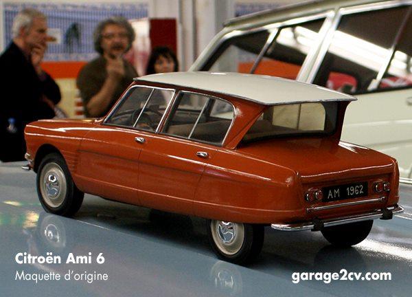 ami6 maquette d origine