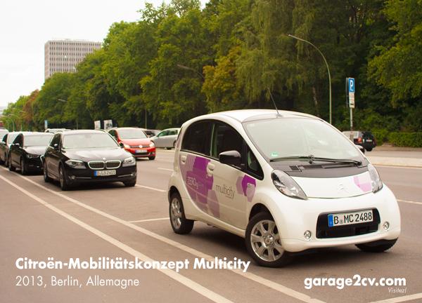 Das im Sommer 2012 in Berlin gestartete Mobilitätskonzept Multicity ist für Citroën und die Deutsche Bahn mehr als ein Werbeerfolg: Schon bald werden insgesamt 500 Citroën C-Zero über die Straßen der Hauptstadt rollen. Foto: garage2cv.de
