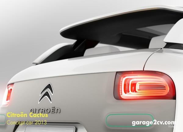 Wie filigrane Dachabschluß des Concept Car Cactus in Serie aussehen wird, klärt sich spätestens am 5. Februar 2014. Dann stellt Citroën den C4 Cactus offiziell vor.