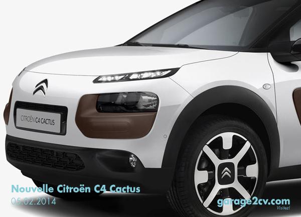 Unverwechselbarkeit à la Citroën: Der Hersteller hat seinem neuen Cactus ein gehöriges Maß an Individualität mit auf den Weg gegeben. Bild: Citroën/garage2cv.de