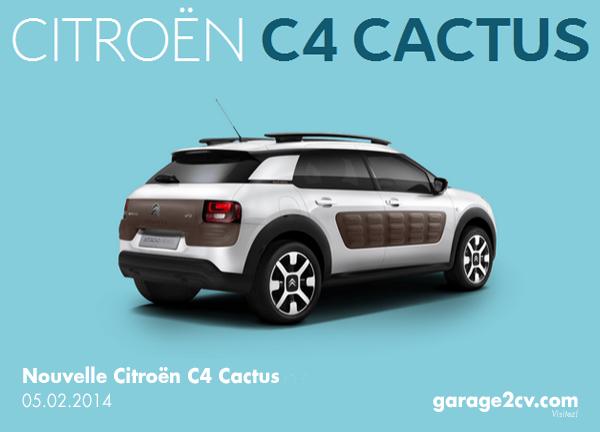 Der jetzt präsentierte Citroën C4 Cactus bleibt erfrischend nah an der bereits im Herbst 2013 vorgestellten Konzeptstudie. Bild: Citroën/garage2cv.de
