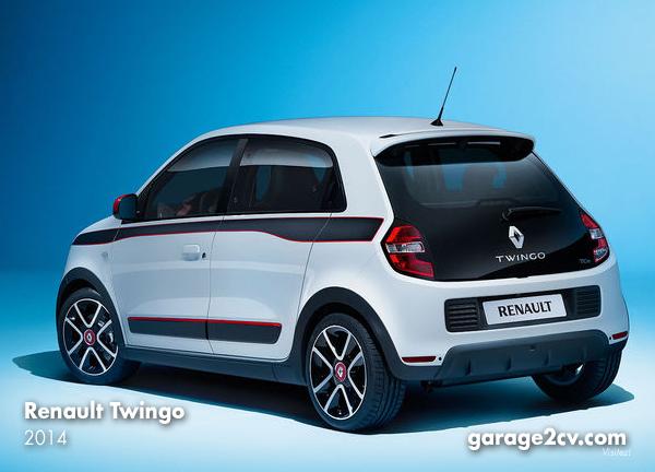Beim Twingo 3 kehrt der Renault-Heckmotor zurück ... in Zusammenarbeit mit Daimler-Tochter Smart. Bild: Renault / Archiv garage2cv