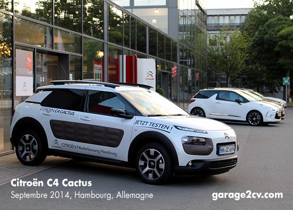 Die offizielle Markteinführung des Citroën C4 Cactus beginnt in Deutschland am 12. September 2014. / Bild: garage2cv