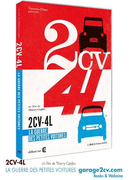 2CV 4L La guerre des petites voitures