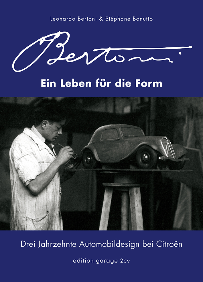 Autor Stéphane Bonutto liest aus der neuen Biographie Flaminio Bertoni: Ein Leben für die Form. Bild: edition garage 2CV