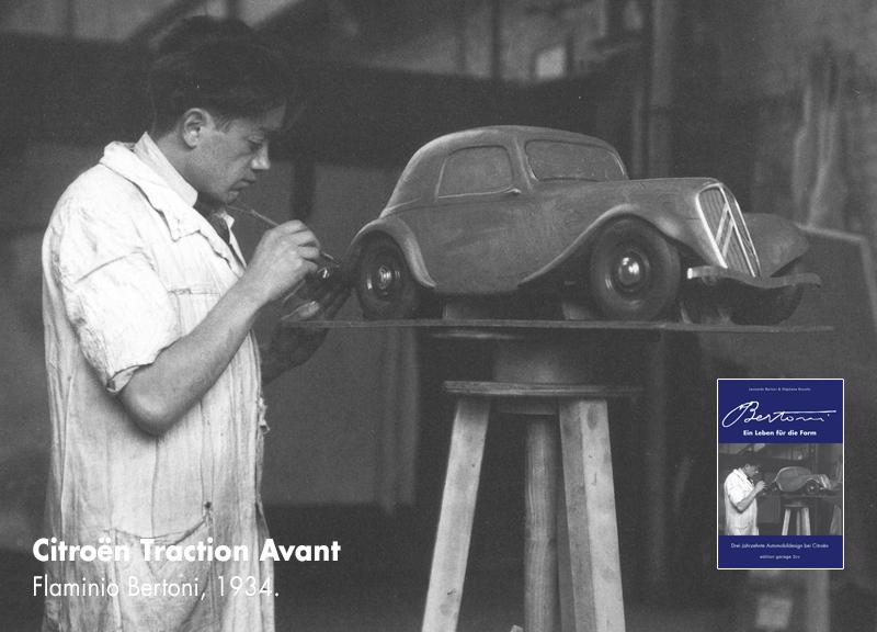 flaminio bertoniein leben fuer die Form flaminiomit traction modell 1934