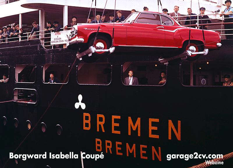 Das Isabella Coupé gilt als Borgwards Meisterstück der Fünfziger Jahre. Bild: Borgward