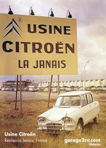 Das 1961 in Betrieb gehende Citroënwerk in Rennes-La Janais ist mehr als nur eine Autofabrik. Es trägt zur Entwicklung einer ganzen Region bei und ist noch heute in Betrieb.