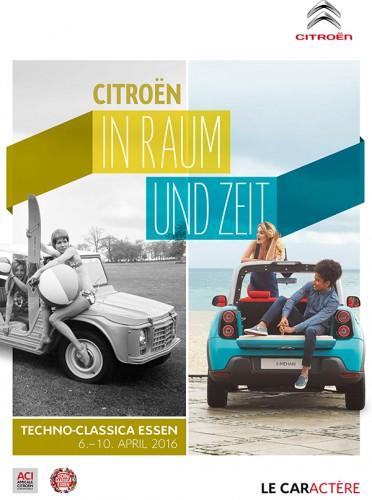 Zur diesjährigen Techno Classica hat Citroën dieses Poster aufgelegt. Es ist am Citroën-Stand erhältlich.