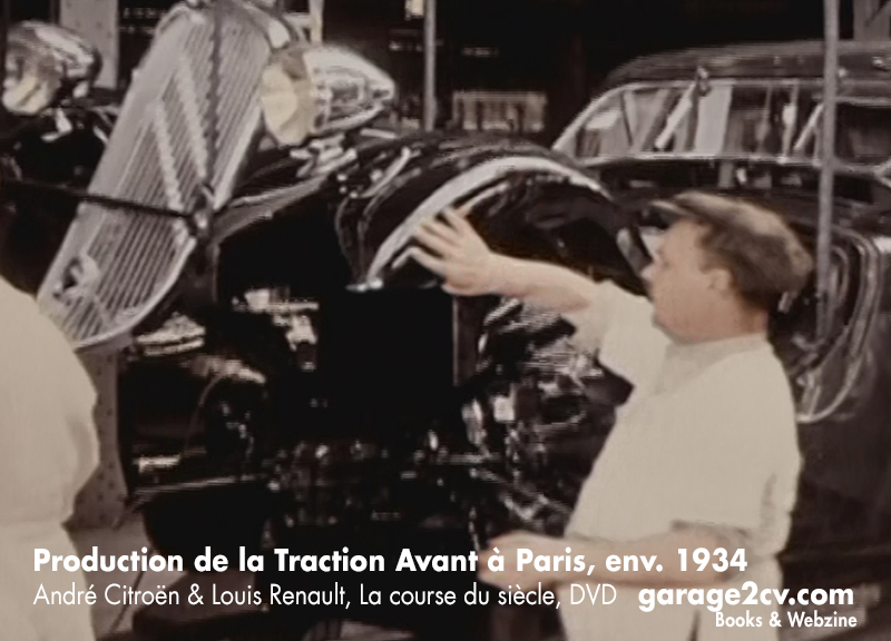 production de la traction avant