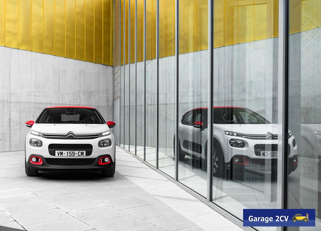 Geburtstagsgeschenk: Pünktlich zu 90 Jahren Citroën feiert der neue C3 am 20. und 21. Januar 2017 Deutschlandpremiere. Bild: Citroën.