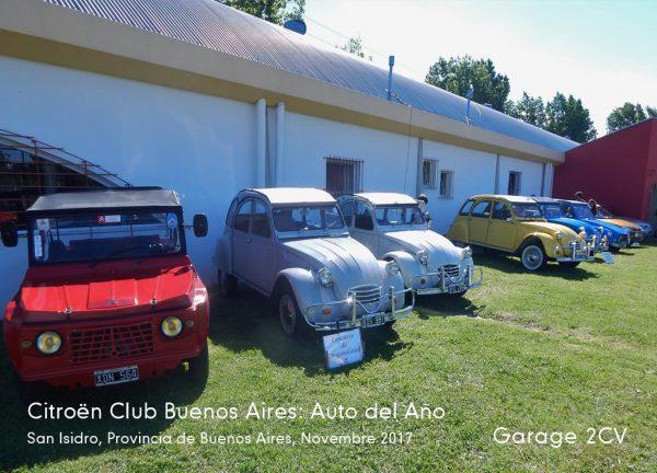 """Wettbewerb """"Auto des Jahres"""" in San Isidro, November 2017. Bild: Citroën Club Buenos Aires"""