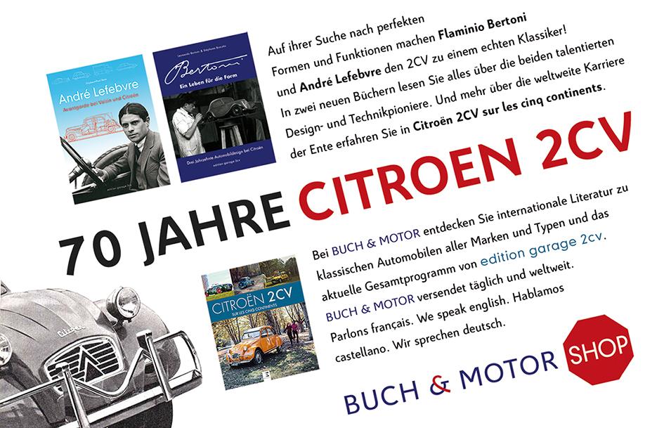 BUCH & MOTOR Citroën Literatur im Internet. Weltweiter Versand.
