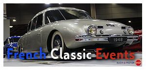 French Classic Eventkalender by Garage 2CV und BUCH & MOTOR