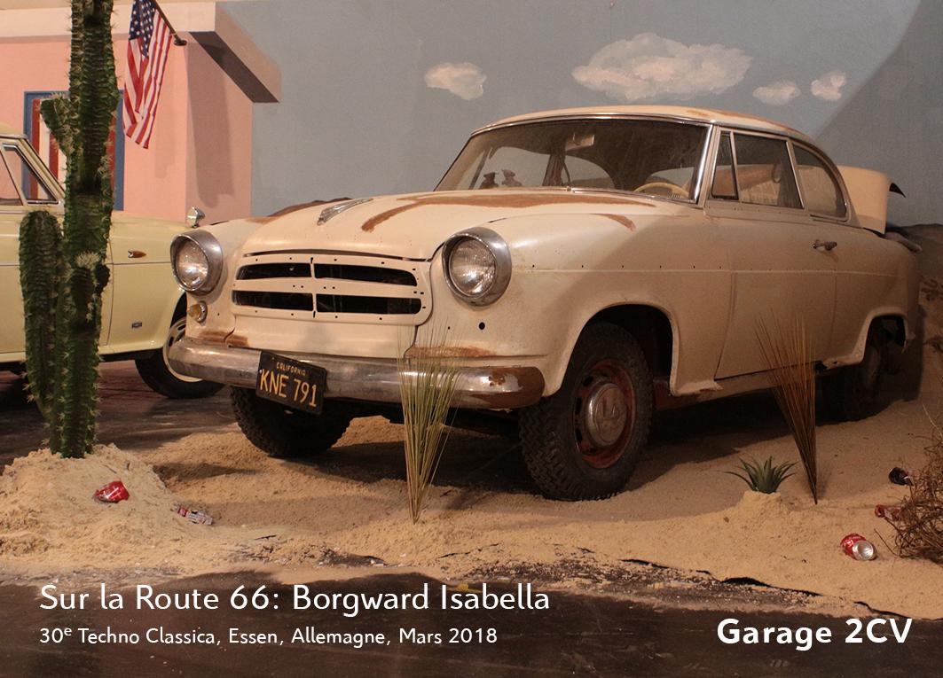 Die Borgward IG ist auf der Route 66 unterwegs