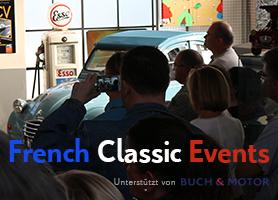 French Classic events by BUCH & MOTOR - Der Veranstaltungskalender für französische Fahrkultur - Jetzt bei garage 2cv.de