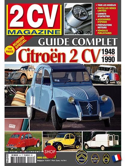 2cv magazine guide complet 2cv 1948 1990