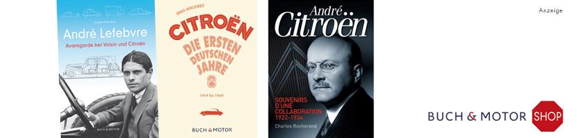 Jetzt bei BUCH & MOTOR Citroën GS & GSA, André Lefebvre: Avantgarde bei Voisin und Citroën, Renault 16 de mon père. Weltweiter Versand.