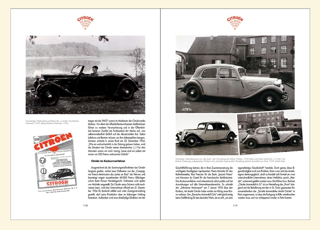 Citroën Traction Avant aus deutscher Produktion in Citroën: Die ersten deutschen Jahre von Immo Mikloweit.