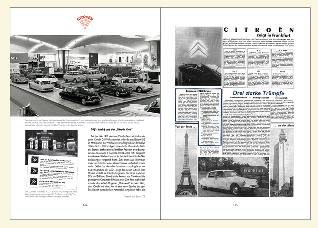 1955/56: Die Göttin von Citroën kommt nach Deutschland. in  Citroën: Die ersten deutschen Jahre von Immo Mikloweit.
