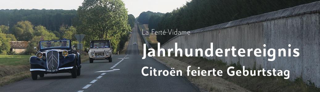 Das offizielle Treffenbuch von 100 Jahren Citroën ist da ! - Jetzt bei BUCH & MOTOR