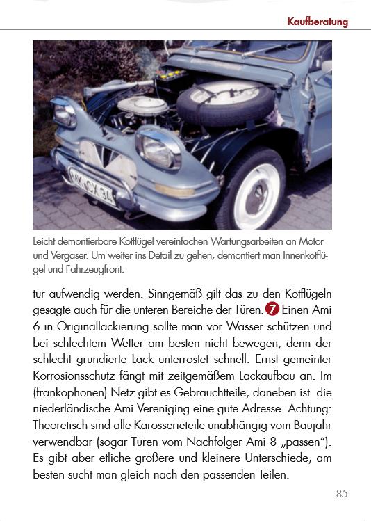Citroën Ami 6 KOMPAKT - Das Nachschlagewerk zum kleinen Freund