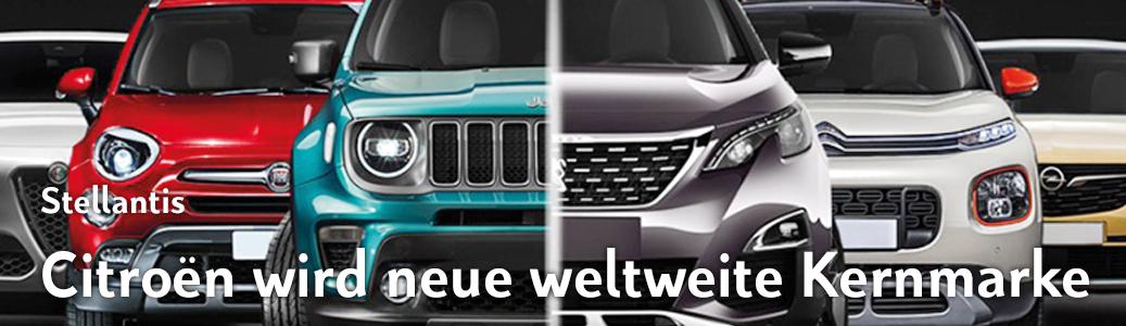 Citroën wird neben FIAT die neue Stellantis Kernmarke