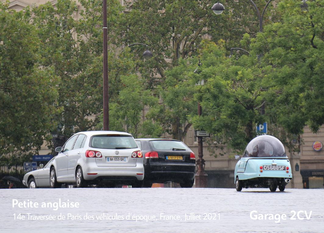 Petite anglaise - 14e traverseée de Paris estivale en véhicules anciens - Garage 2CV