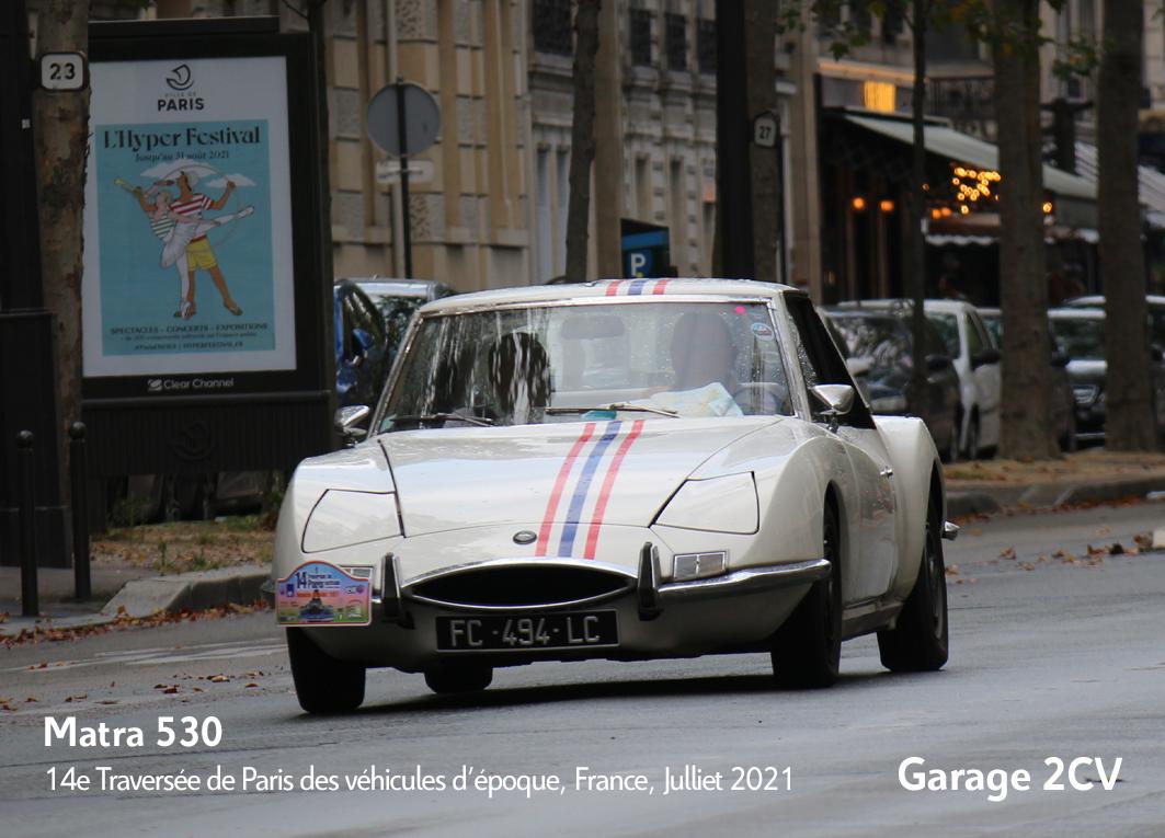 Matra - 14e traverseée de Paris estivale en véhicules anciens - Garage 2CV