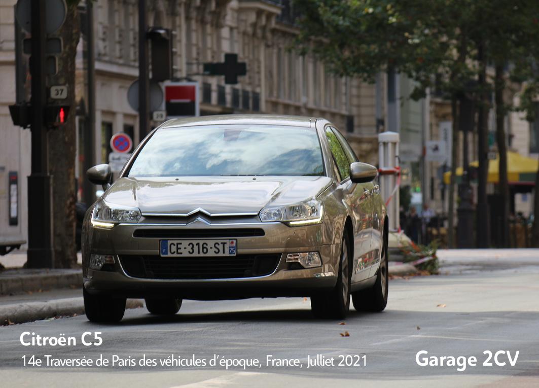 Citroën C5 - 14e traverseée de Paris estivale en véhicules anciens - Garage 2CV