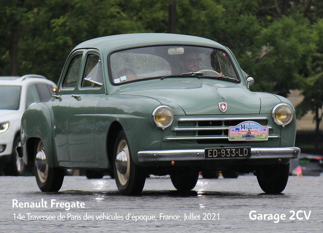 Renault Fregate - 14e traverseée de Paris estivale en véhicules anciens - Garage 2CV