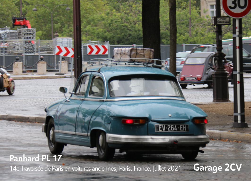 Panhard PL 17 - 14e traverseée de Paris estivale en véhicules anciens - Garage 2CV
