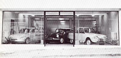 1966 es stand im agent citro n citro n lefebvre borgward reste der letzte d schwo und - Garage citroen montreuil ...